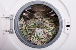 white collar crime money laundering