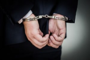 white collar crime arrest